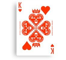 Anteros King of Hearts Canvas Print