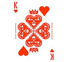 Anteros King of Hearts Photographic Print