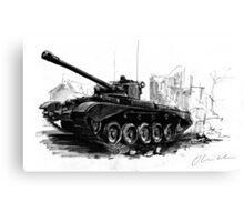 A34 Comet Tank Canvas Print