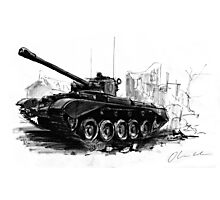 A34 Comet Tank Photographic Print