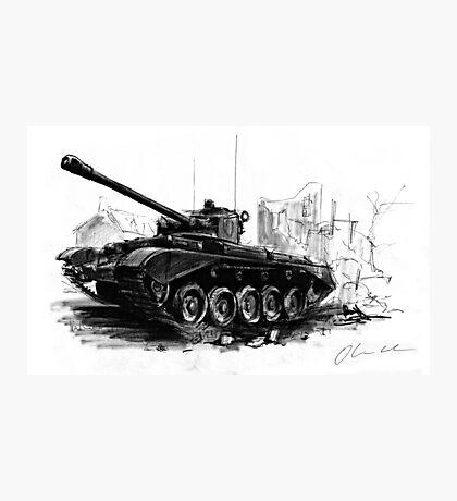 A34 Comet Tank Photographic Print
