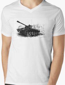 A34 Comet Tank Mens V-Neck T-Shirt