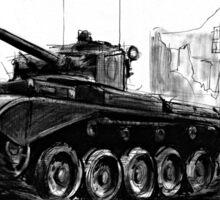 A34 Comet Tank Sticker