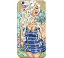 Trisha Pin-Ups: Sailor iPhone Case/Skin