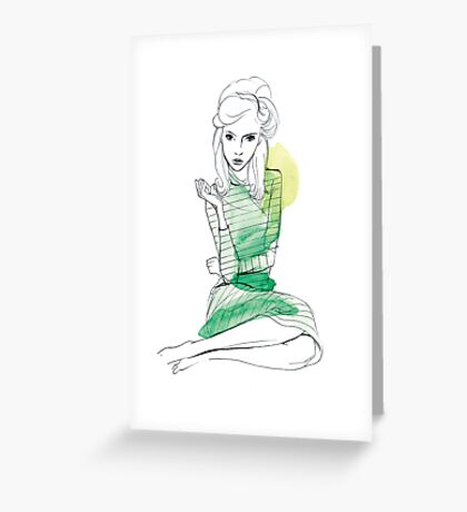 Jules Greeting Card