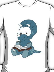 Little Bookworm Dinosaur T-Shirt