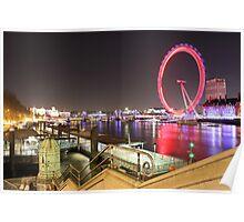Thames River, London, England, UK * Poster