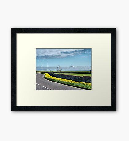 Coastal Road Lytham Framed Print