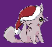 Myu the Candyfloss Cat... at Christmas! by MissCake