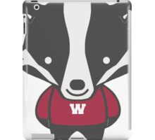 Badger Mascot Chibi Cartoon iPad Case/Skin