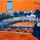Liffey Bridges, Dublin by eolai