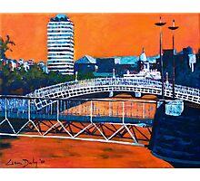 Liffey Bridges, Dublin Photographic Print