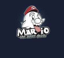 Mario : The Super Ghost Kids Tee
