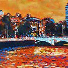 O&#x27;Connell Bridge &amp; Liberty Hall, Dublin by eolai