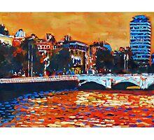 O'Connell Bridge & Liberty Hall, Dublin Photographic Print