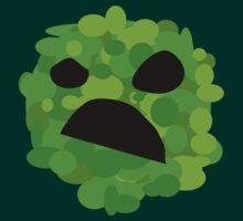 Artistic Creeper Face by mumblebug