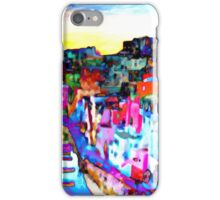 Night in Naples, Italy iPhone Case/Skin