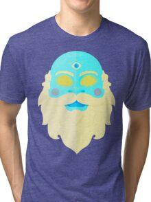 Santa Cosmos Tri-blend T-Shirt