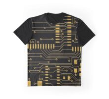 Computer Circuit Board  Graphic T-Shirt