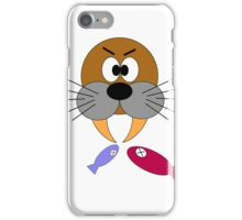 Hungry Walrus  iPhone Case/Skin