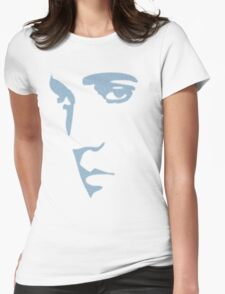 King of Rock n Roll silhouette  Womens Fitted T-Shirt