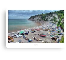 Beer, Devon Canvas Print