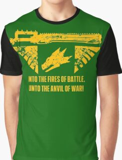 Into the fires of battle Graphic T-Shirt