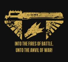 Into the fires of battle One Piece - Short Sleeve