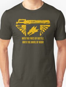 Into the fires of battle T-Shirt