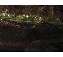 Stone Painting X Photographic Print