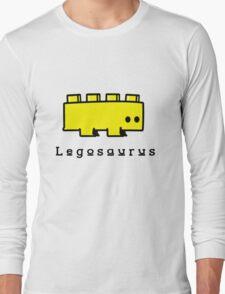 Legosaurus funny nerd geek geeky Long Sleeve T-Shirt