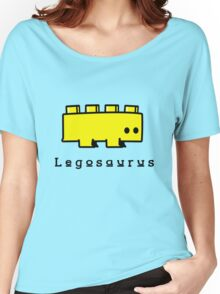 Legosaurus funny nerd geek geeky Women's Relaxed Fit T-Shirt