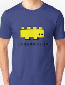 Legosaurus funny nerd geek geeky T-Shirt