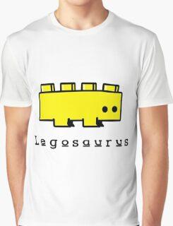 Legosaurus funny nerd geek geeky Graphic T-Shirt