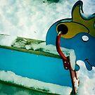 Snow Horse by delosreyes75