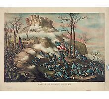 Civil War Battle of Lookout Mountain November 24 1863 Photographic Print