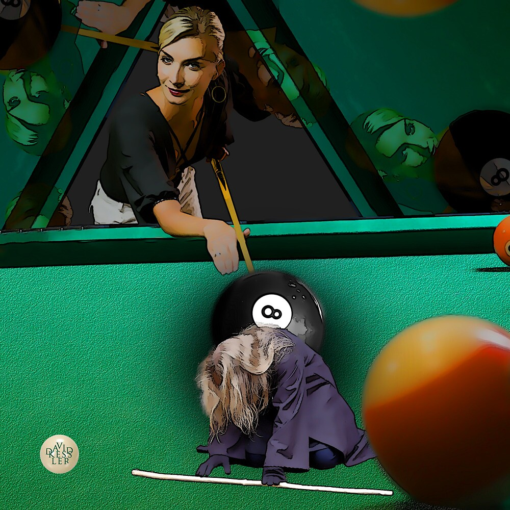 Behind the Eight Ball by David Kessler