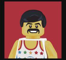 Freddie Mercury Portrait by littleartists
