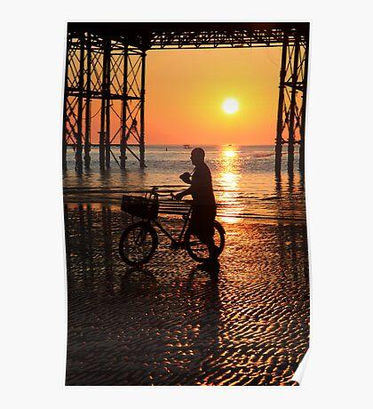 Brighton Sea front Poster