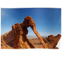 Elephant Rock, Valley of Fire, Nevada Poster