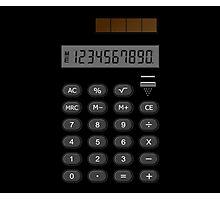 Retro Calculator  Photographic Print