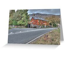 Hotel Llanberis Greeting Card