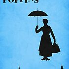 Mary Poppins by Zoe Toseland