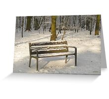 Merry Christmas - Waiting for you Greeting Card