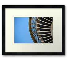 Radius Framed Print