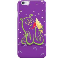 alien ice cream iPhone Case/Skin