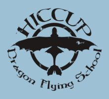 Hiccup's Dragon Flying School Kids Tee
