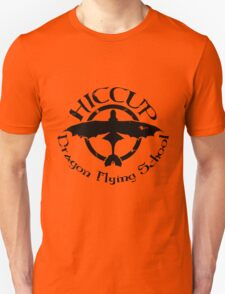 Hiccup's Dragon Flying School Unisex T-Shirt