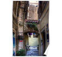 An Alleyway in Old Split Poster