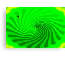 in2 the wormhole Canvas Print